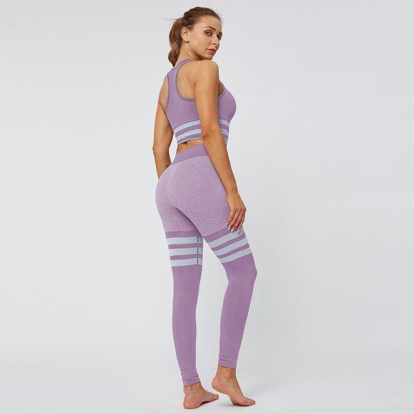 Sock Leggings - purple